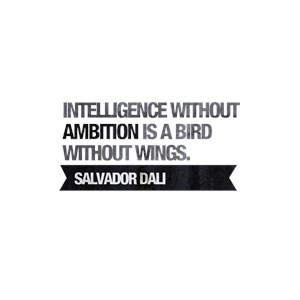 Intelligence without ambition is a bird without