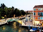 Evening Lights of Venice, Photo / Digital Painting