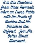 Paths of Peril Better World Movement Design