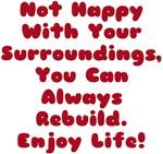 Rebuild Enjoy Life! Design