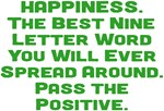 HAPPINESS Pass the Positive Design