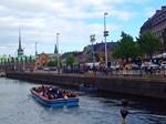 Copenhagen Boat Ride, Photo / Digital Painting
