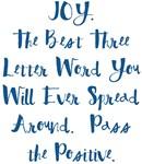 Joy Pass the Positive Design