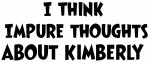 Kimberly (impure thoughts}