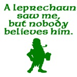 A Leprechaun Saw Me
