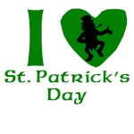 I Heart St. Patrick's Day