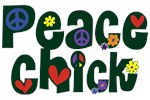 Peace Chick ~ A fun, whimsical font for peace chicks of every age.