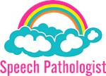 Cloud Rainbow Speech Pathologist