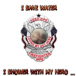 Save Water - Firefighter