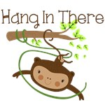Monkey Hang in There