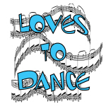 Loves to Dance Tshirts and Gifts