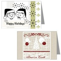 Christmas Holiday Greeting Cards, Postcards