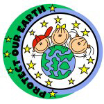 Protect Our Earth Stick Figure T-shirts and Gifts