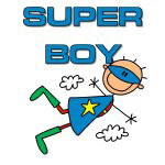 Super Boy T-shirts and Gifts