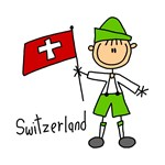 Switzerland Ethnic T-shirts and Gifts