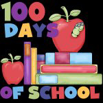 Books 100 Days of School T-shirts and Gifts