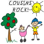 Cousins Rock One T-shirts and Gifts