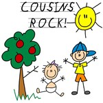 Cousins Rock Five Tshirts and Gifts