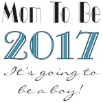 2017 Future Mom of Boy T-shirts and Gifts