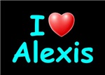 I Love Alexis (Lt Blue)