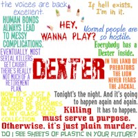 Dexter Quotes Collage