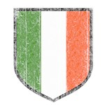 Irish Flag Crest T-Shirts