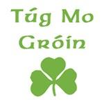 Tug Mo Groin T-Shirts