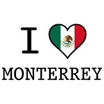I Love Monterrey T-Shirts and Gifts