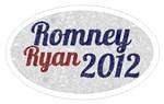 Romney Ryan Vintage Oval