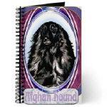 Beautiful Afghan Hound Journals