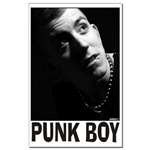 Punk Boy Framed Prints and Posters