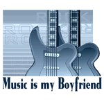 Music is My Boyfriend T-shirts and Gifts