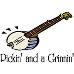 Pickin and Grinnin T-shirts and Gifts