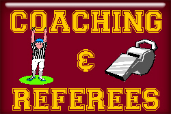 Coaching and Referee T-shirts and gifts.