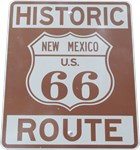 Rt. 66 New Mexico Road Sign