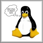 Use Linux. It doesn't suck.