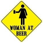 Woman at Beer