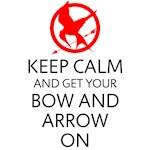 Keep Calm Bow & Arrow
