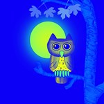 Lwood Blue Owl