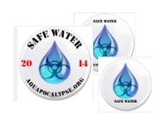 Safe Water Buttons
