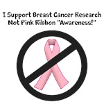 Breast Cancer - Support Research, Not Ribbons