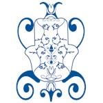Hamsa Exotika in Blue