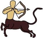 Sagittarius Centaur symbol