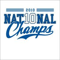 2010 National Champs (NC)