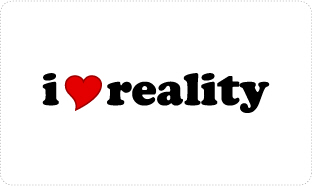 I Love Reality | Rational thinking T-shirts & Anti Fantasy gifts for Scientists