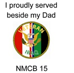 Proudly Served Dad NMCB 15