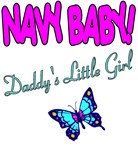 Navy Baby Daddy's Girl