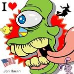 Crazy Green Alien Monster Gifts