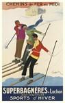 Skiers, Cappiello