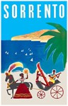 Vintage Travel Poster Rugs
